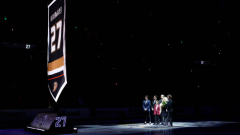 Scott Niedermayer jersey retirement