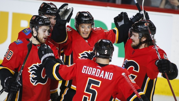 5715c7216 Giordano leads Flames to win over Coyotes - TSN.ca