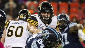Tiger-Cats re-sign veteran Canadian OL Filer