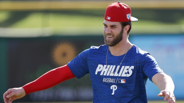 a4e5d8eda5271b Harper lobbies for Trout to join him in Philadelphia - TSN.ca