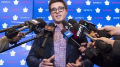 Dubas calls Marchand's tweet on  Marner's next contract 'a master troll job' Article Image 0