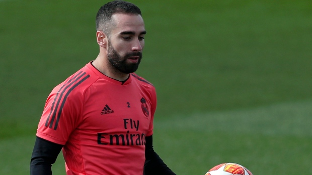 17b1dcf09f0 Real Madrid s Vazquez and Carvajal out with muscle injuries - TSN.ca