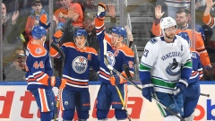 Zack Kassian, Ryan Nugent-Hopkins, Connor McDavid