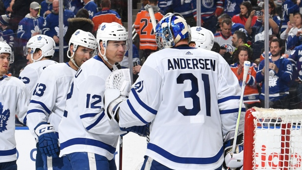 3f582c4ab Andersen returns to form in Leafs' win over Oilers - TSN.ca