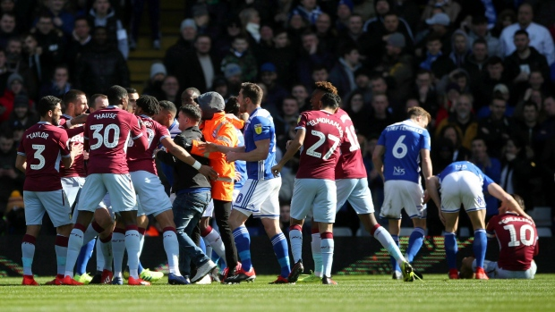 Fan removed after attacking Aston Villa's Jack Grealish