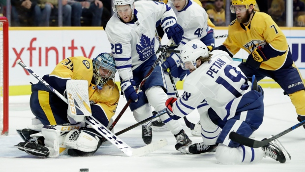 faeed66b13c Preds  Rinne shuts out struggling Leafs for second straight time - TSN.ca