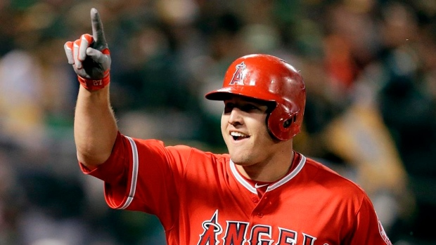 c695991b4fec4 By the Numbers  Trout on pace to become greatest ever  - TSN.ca