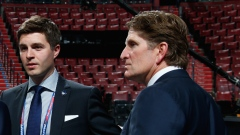 Kyle Dubas and Mike Babcock
