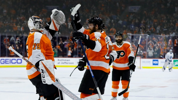 Couturier, Flyers outlast Maple Leafs in shootout - TSN ca