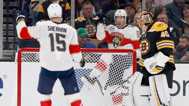 Panthers Snap Bruins 12 Game Home Win Streak Tsn Ca