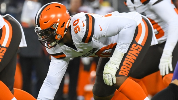 Emmanuel Ogbah Doesn't Report To Browns In Advance Of Possible Trade