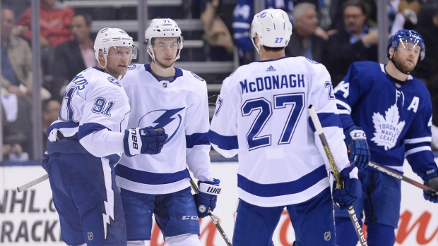215188b4 Maple Leafs fall to Stamkos, Lightning in last home game of season ...
