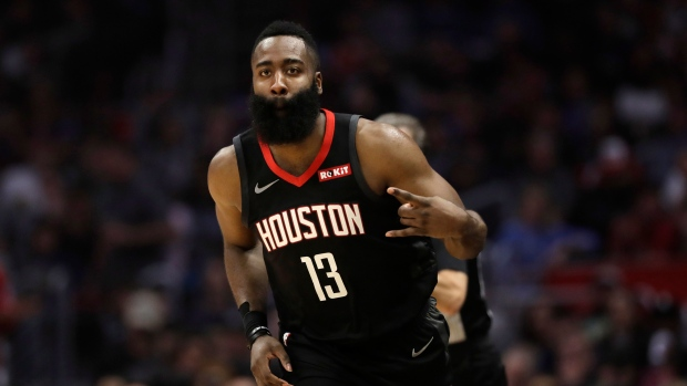 4a64ff8464a7 Harden scores 26 in Rockets  rout of Knicks - TSN.ca