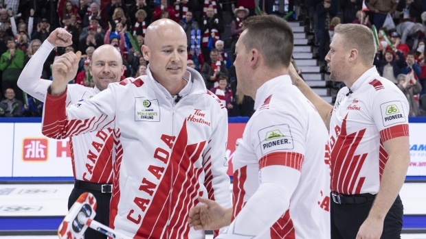 Canada's Koe beats Scotland and Switzerland to reach gold