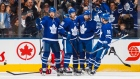 Toronto Maple Leafs celebrate