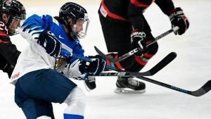 Despite missing star goalie, Finns aim to chase gold at 2021 women's worlds