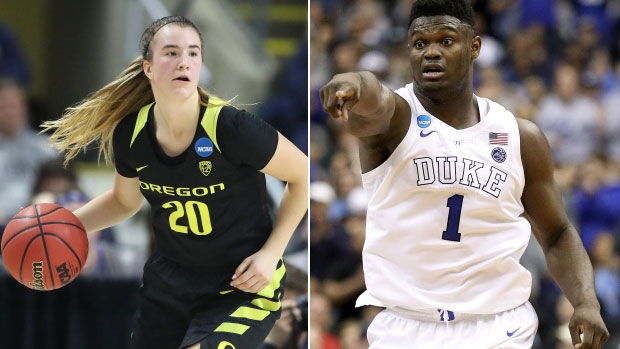 Williamson, Ionescu win honors at College Basketball Awards