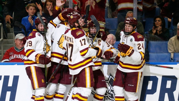 Duluth Wins College Hockey National Title
