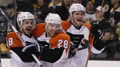 Philadelphia Flyers celebrate