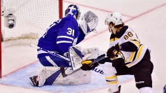 Bruins hold off Maple Leafs 6-4 to tie series Article Image 0