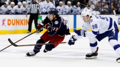 Blue Jackets advance after sweep of mighty Lightning Article Image 0