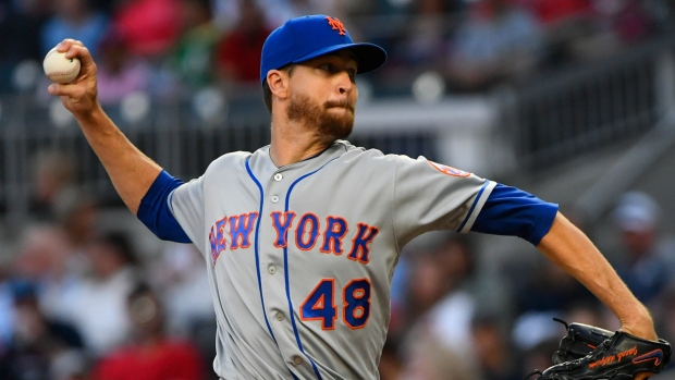 Mets' deGrom to undergo MRI on elbow