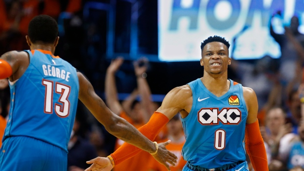 29c98c235f5c Oklahoma City Thunder duo Paul George and Russell Westbrook reportedly  undergo surgical procedures