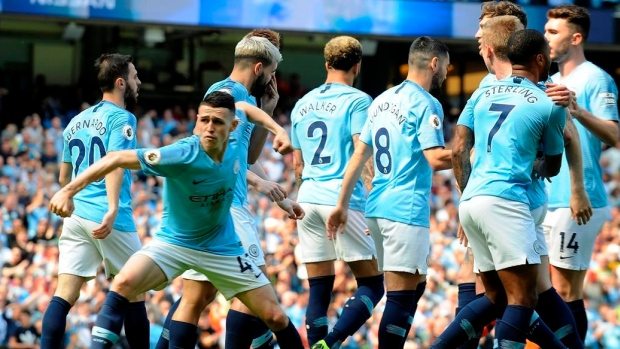 Phil Foden, Manchester City celebrate