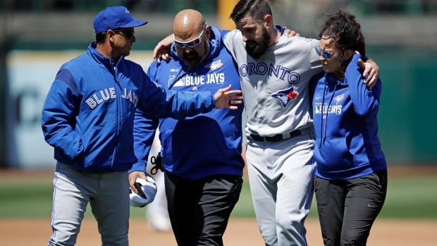 Blue Jays lose Matt Shoemaker for season with torn ACL