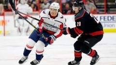 Capitals' T.J. Oshie out of playoffs with broken clavicle Article Image 0
