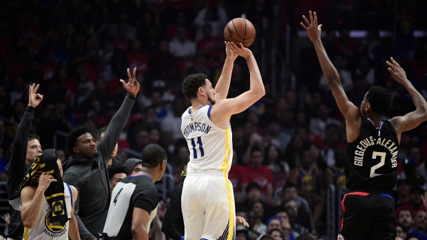 5cc30021f547 Warriors beat Clippers to take 3-1 series lead - TSN.ca