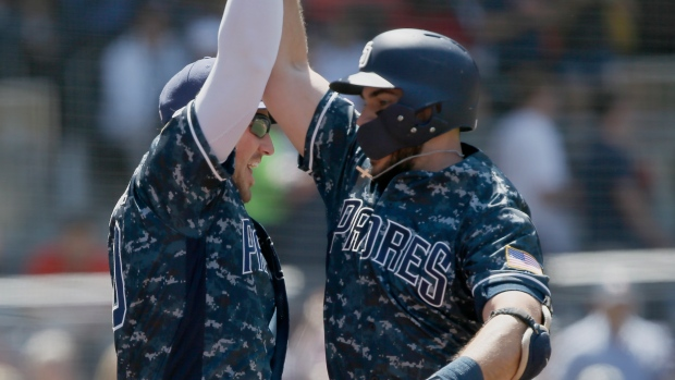 b759b88a44fa3 Hedges, Padres beat Reds to end 6-game losing streak - TSN.ca