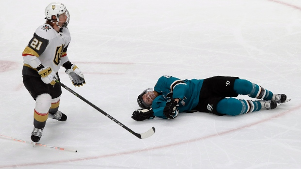 Golden Knights fume after disputed call sparks Sharks