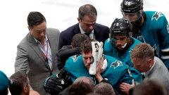 Sharks' Pavelski unlikely for Game 1 after scary injury Article Image 0