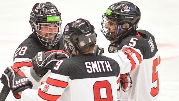 Hickey Scores Four As Canada Beats South Korea In Para Hockey Semis
