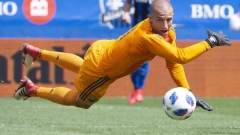 Impact goalkeeper Evan Bush named Major League Soccer player of the week Article Image 0