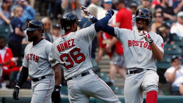 91740f65 Bogaerts hits slam in 7-run 8th, Red Sox beat White Sox - TSN.ca