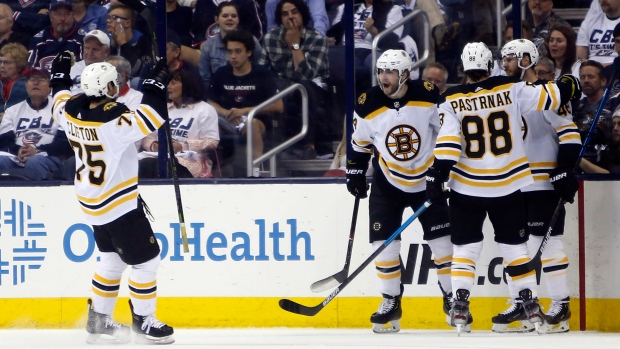 Bruins run away with Game 1 against Hurricanes