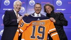 Bob Nicholson, Ken Holland and Daryl Katz