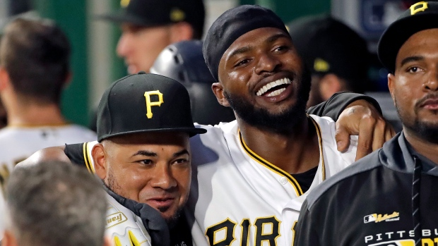 new style 84269 ac79b Gregory Polanco hits first homer as Pittsburgh Pirates beat ...