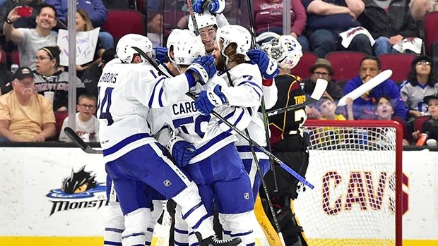 Toronto Marlies Advance In Ahl Playoffs With Sweep Of Cleveland