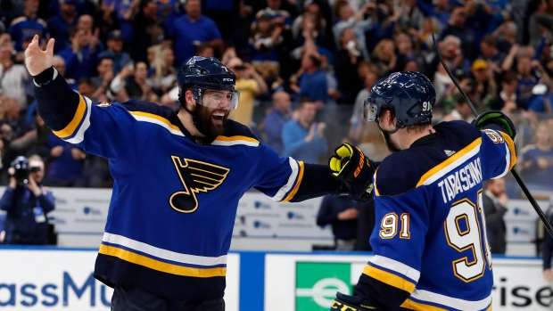 Maroon Scores Game 7 Double Overtime Winner As St Louis Blues