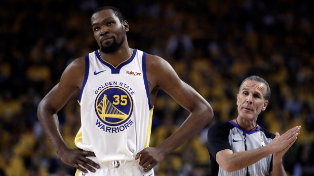 0bc58a98b9a Golden State Warriors  Kevin Durant to miss Games 3