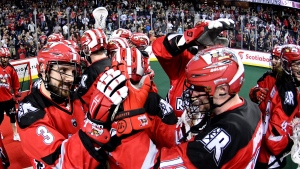 Dobbie, Roughnecks beat Mammoth to advance to NLL Cup final