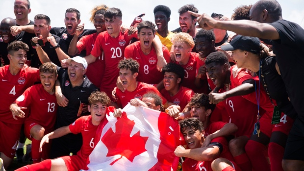 Canada qualifies for FIFA U-17 World Cup