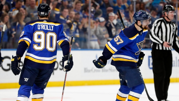 David Perron Ryan O'Reilly