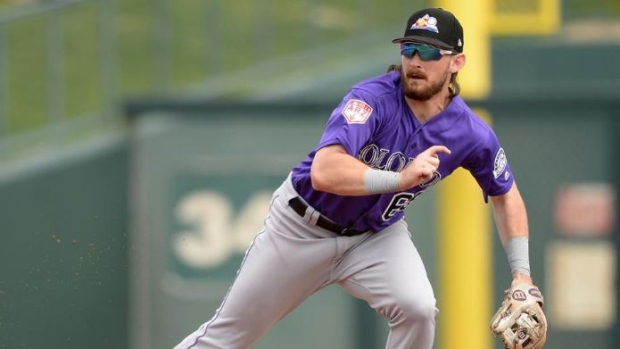 Rockies to call up Rodgers from Triple-A
