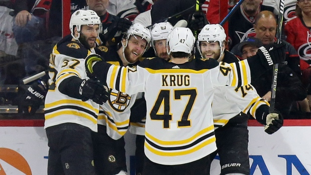 Boston Bruins advance to Stanley Cup Final with sweep of Carolina Hurricanes - TSN.ca