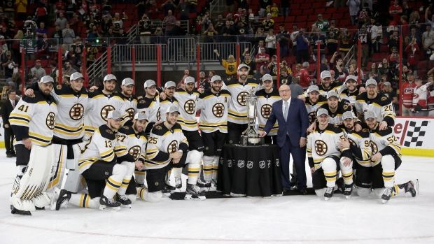 31542af72 Bruins sweep 'Canes, reach third Stanley Cup Final in nine years ...