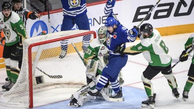 Samuel Asselin Halifax Mooseheads Beat Prince Albert Raiders To
